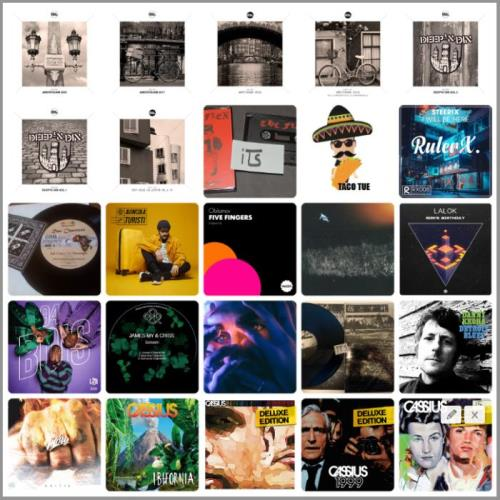 Electronic, Rap, Indie, R&B & Dance Music Collection Pack (2021-03-09)