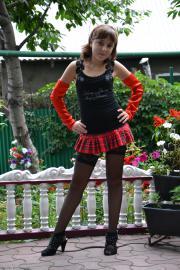 Silver Starlets Ariana Tartan Skirt 1 Download | Black