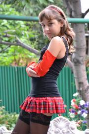 Silver-Starlets Ariana Tartan Skirt 1